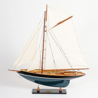 Old Modern Handicrafts Penduick Painted Model Ship