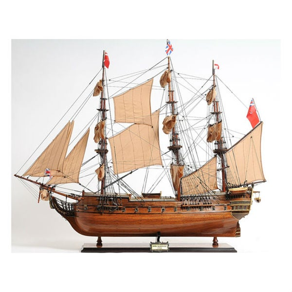Old Modern Handicrafts HMS Surprise Model Ship. Opens flyout.
