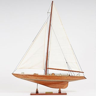 Old Modern Handicrafts Columbia Small Model Ship