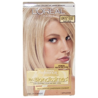 L'Oreal Superior Preference Les Blondissimes 'Extra Light Natural Blonde' Hair Color