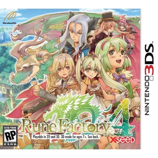 Nintendo 3DS - Rune Factory 4