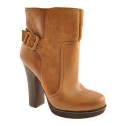 Women's Jessica Simpson Callian Dark Camel/Tan Leather/Suede