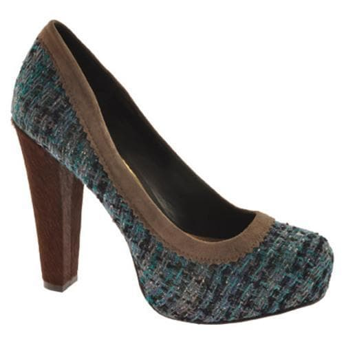 Women's Jessica Simpson Topazio Montana Blue Tweed Fabric