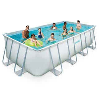 Above ground pools for less overstock for A rectangular swimming pool is 6 ft deep