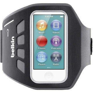 Belkin Ease-Fit Plus Carrying Case (Armband) for iPod - Blacktop