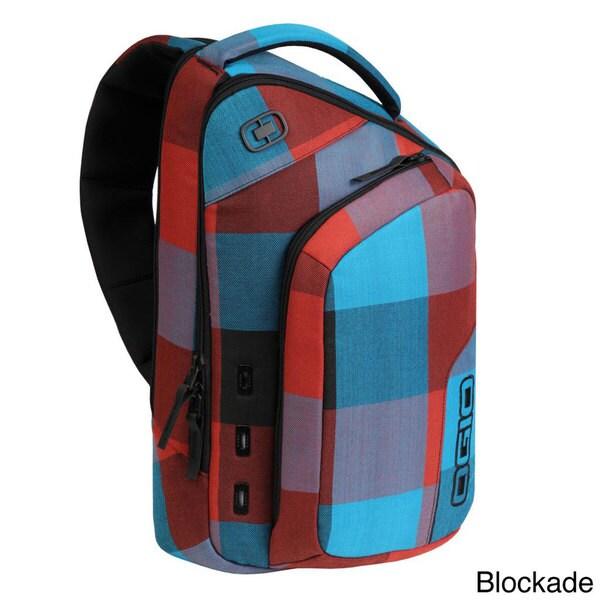 Ogio Newt II Mono Black Laptop/Tablet Backpack