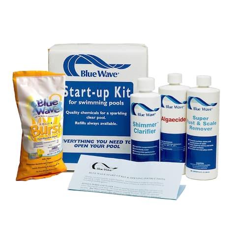 Pool Chemical Spring Start-up Kit - Blue
