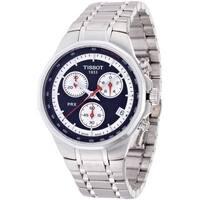 Tissot Men's T0774171105101 PRX Black Dial Chronograph Watch