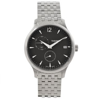 Tissot Men's Tradition GMT Grey Dial Watch