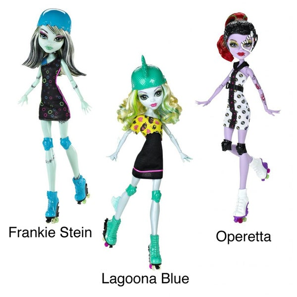 Monster High Roller Maze 5.5-inch Doll