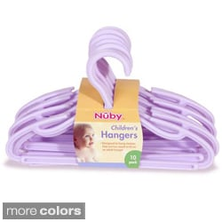 Nuby Children's Hangers (Pack of 10)