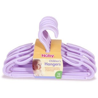 Nuby Children's Hangers (Pack of 10) (4 options available)