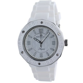 Oceanaut Women's White Acqua Watch