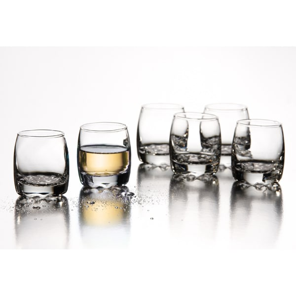 Fifth Avenue Crystal Montego 2-ounce Shot Glasses (Set of 6)