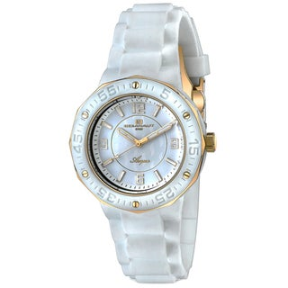 Oceanaut Women's White-Dial Acqua Watch