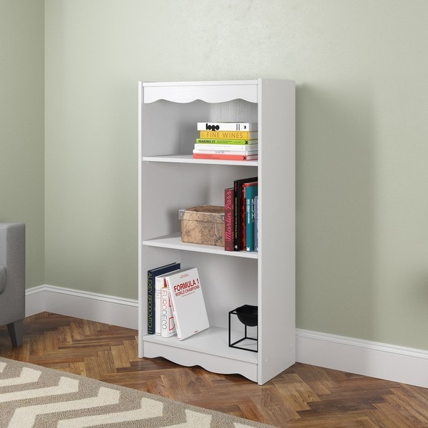 Sonax S-017-NHL Hawthorn 48-inch Frost White Bookcase