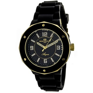 Oceanaut Women's Water-resistant Black Acqua Watch