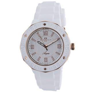 Oceanaut Women's Acqua Rubber Strap Watch|https://ak1.ostkcdn.com/images/products/7824623/7824623/Oceanaut-Womens-Acqua-Watch-P15214500.jpg?impolicy=medium