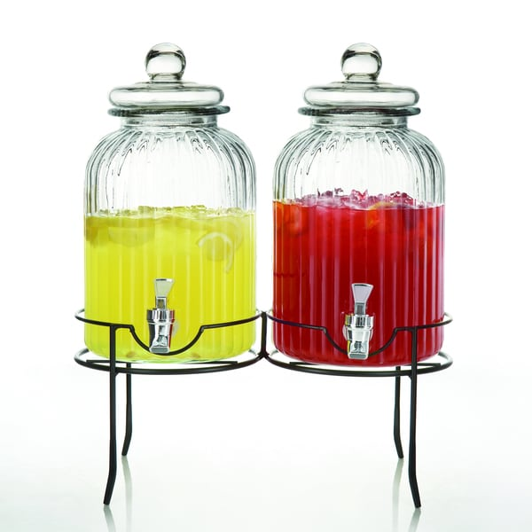Style Setter Springfield 1.38-gallon Beverage Dispensers (Set of 2)