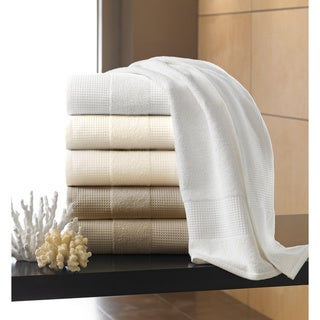 Egyptian Cotton Waffle Terry Collection 650 GSM 6-piece Towel Set