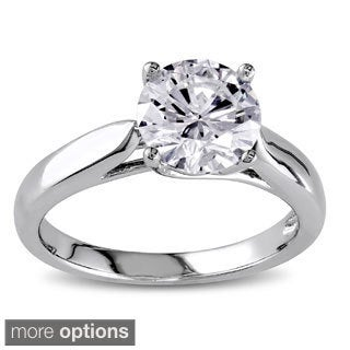 Miadora Signature Collection 14k Gold 1 1/2ct TDW Certified Diamond Solitaire Ring
