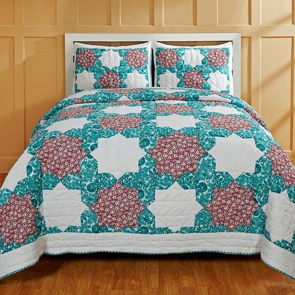 Elena 3-piece Quilt Set