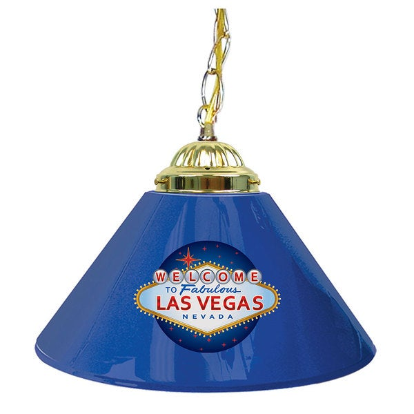 Welcome to Las Vegas 14-inch Single-shade Bar Lamp. Opens flyout.