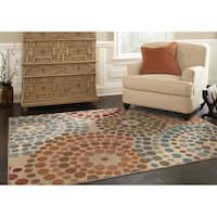 Oliver & James Abdy MultiColor Abstract Area Rug
