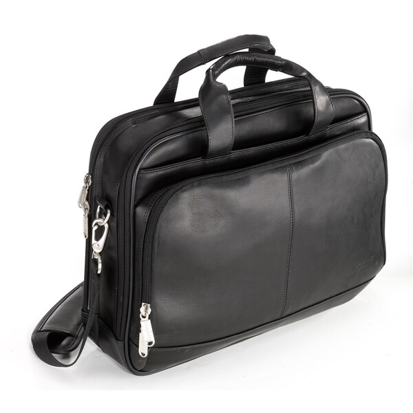 Bugatti Leona Columbian Leather Executive Laptop Briefcase