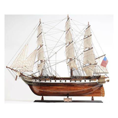 Old Modern Handicrafts USS Constellation Model Ship