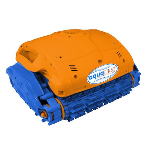 Aquafirst Robotic Cleaner for In Ground Pools - Blue/Orange