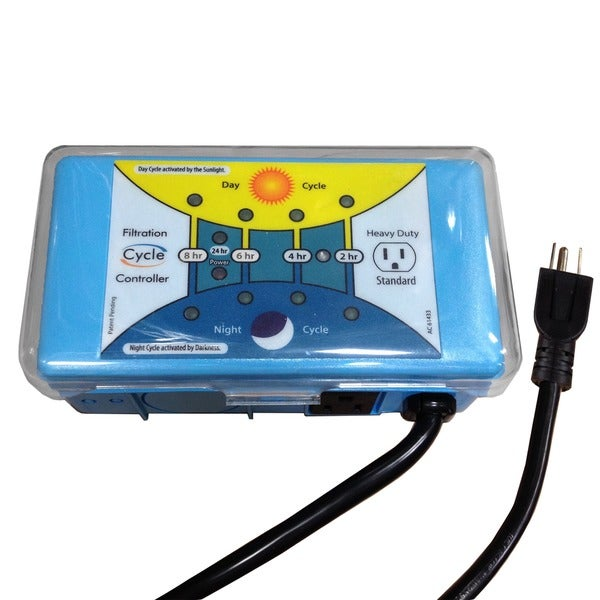 Blue Wave Solar Programmable Pool Filter Timer