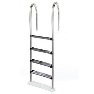 Blue Wave Premium Stainless Steel Above-ground Pool Ladder