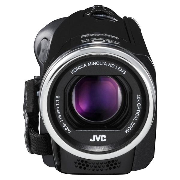 "JVC Everio GZ-E100 Digital Camcorder - 2.7"" LCD - CMOS - Full HD - Bl"