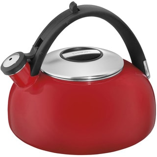 Aura Enamel-On-Steel Stovetop Tea Kettle