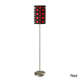Black 66-inch Modern Retro Floor Lamp