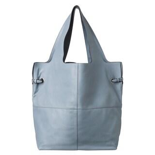 Givenchy 'George V' Large Pale Blue Leather Shopper Bag