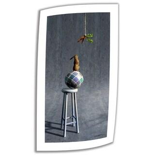 Cynthia Decker 'Equilibrium II' Unwrapped Canvas