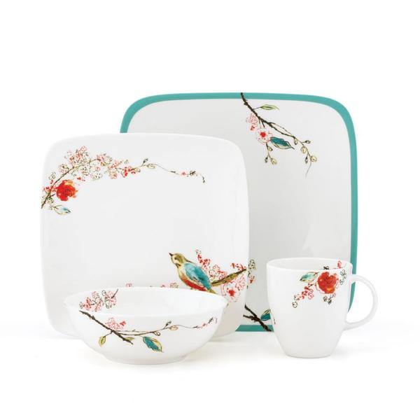 Lenox Chirp Square 4-piece Place Setting