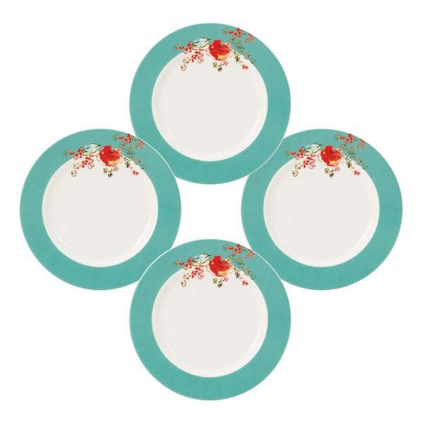 Lenox Chirp 4-piece Dessert Plates  sc 1 st  Overstock.com & Lenox Chirp 4-piece Dessert Plates - Free Shipping Today - Overstock ...