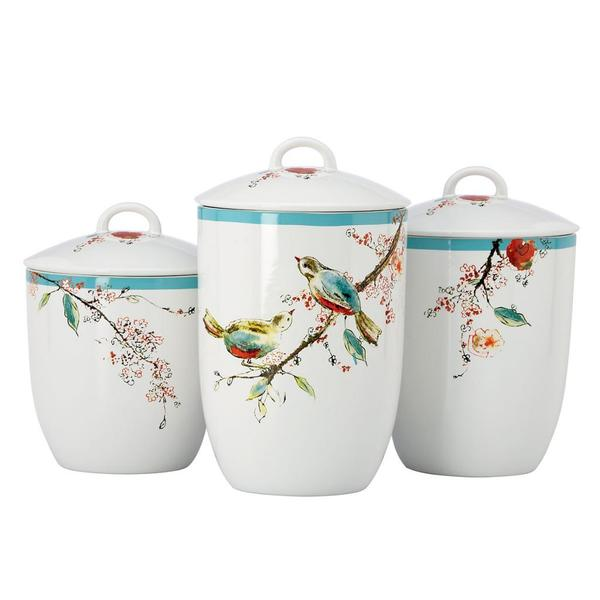 Lenox Chirp Canisters (Set of 3)