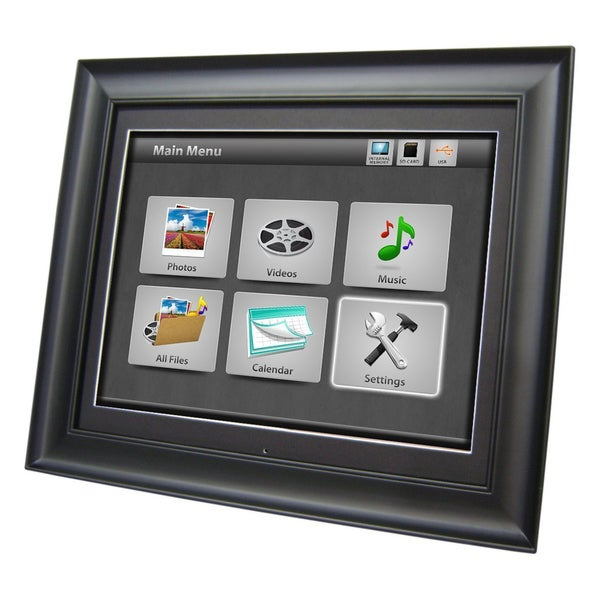 Shop Impecca Dfm1700 17 Inch Digital Picture Frame Free Shipping