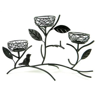 bird39s nest candle holder free shipping today With kitchen cabinets lowes with bird nest candle holder