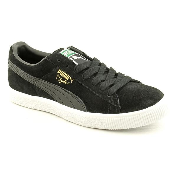 Puma Men's 'Clyde Script' Regular Suede Casual Shoes (Size 7)