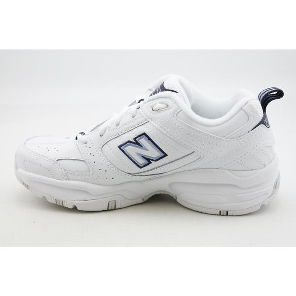 608V2' Leather Athletic Shoe (Size 8.5