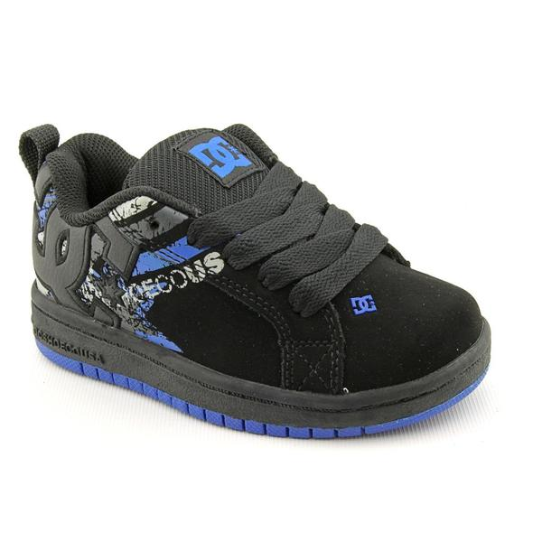 DC Boy (Youth)'s 'Court Graffik SE' Nubuck Athletic Shoe (Size 13.5)