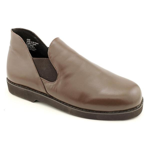 Slippers International Men's 'Romeo' Leather Casual Shoes - Wide
