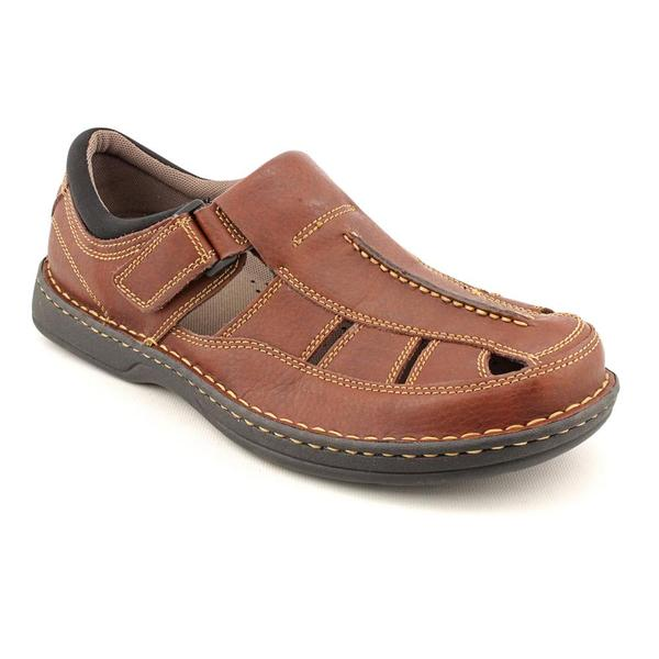 Streetcars Men's 'Coach' Leather Sandals (Size 11)