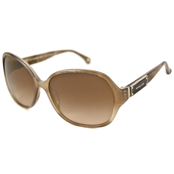 Michael Kors Women's MKS680 Captiva Rectangular Sunglasses