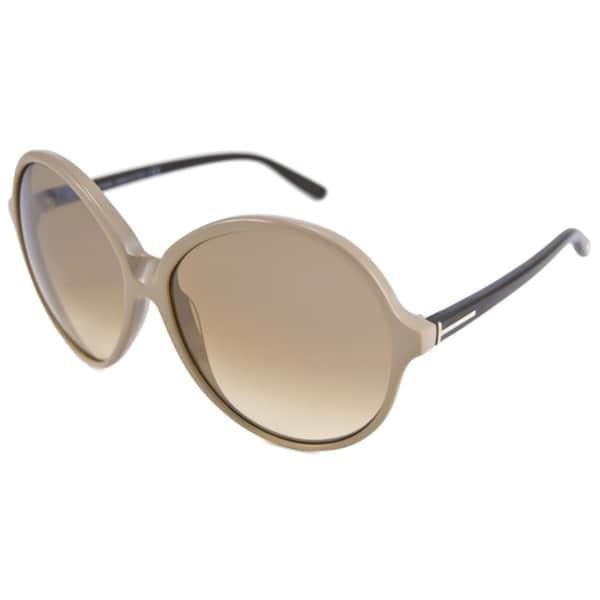 Tom Ford Women's Rhonda TF0187 Round Sunglasses